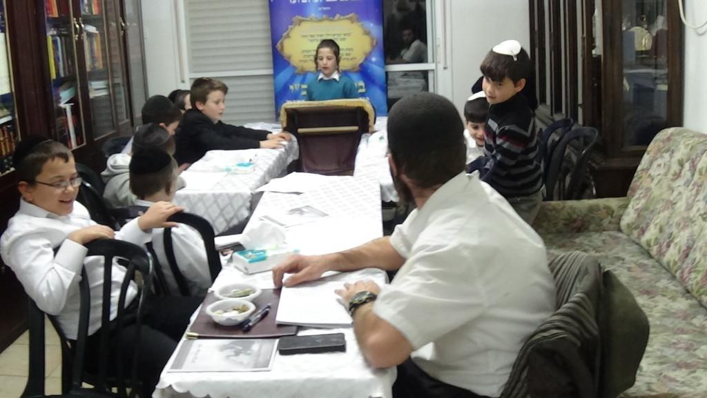 זוהר אבות ובנים- ילדים  לומדים זוהר במוצאי שבת פרשת משפטים - מפעל הזוהר העולמי- תשעה