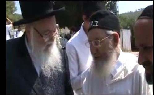 האדמור מהאלמין עם המקובל הרב עמרם וועקנין בציון דן בן יעקבpng