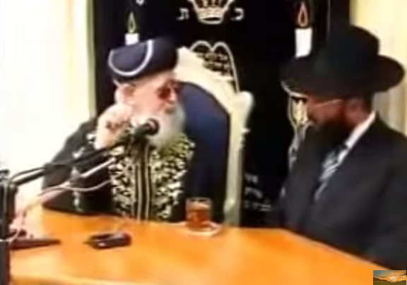 הרב עובידה מדבר על שחיטה של בית יוסף