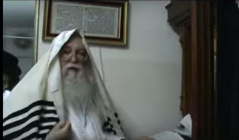 האדמור מהאלמין מתפלל- סליחות- פנים