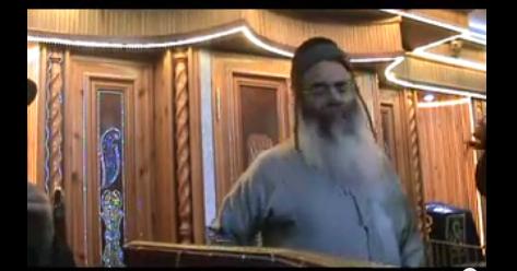 אמנון  יצחק הרב- בדרשה עם האדמור מהאלמין על כשרות