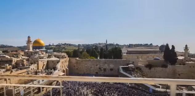 ירושלים- כיפת הזהב  כי להשם המלוכה