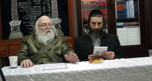 Pic of me with the Holminer Rebbe
