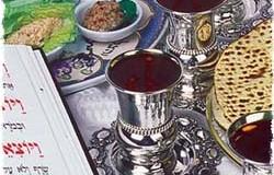 פסח-  4 כוסות ומצה