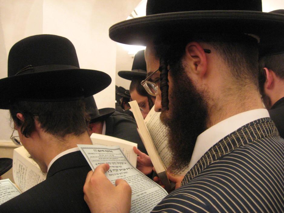 האדמו''ר מהאלמין שליט''א בחלוקה האדירה של ספרי זוהר בחינם ולימוד תיקוני הזוהר במירון (16)