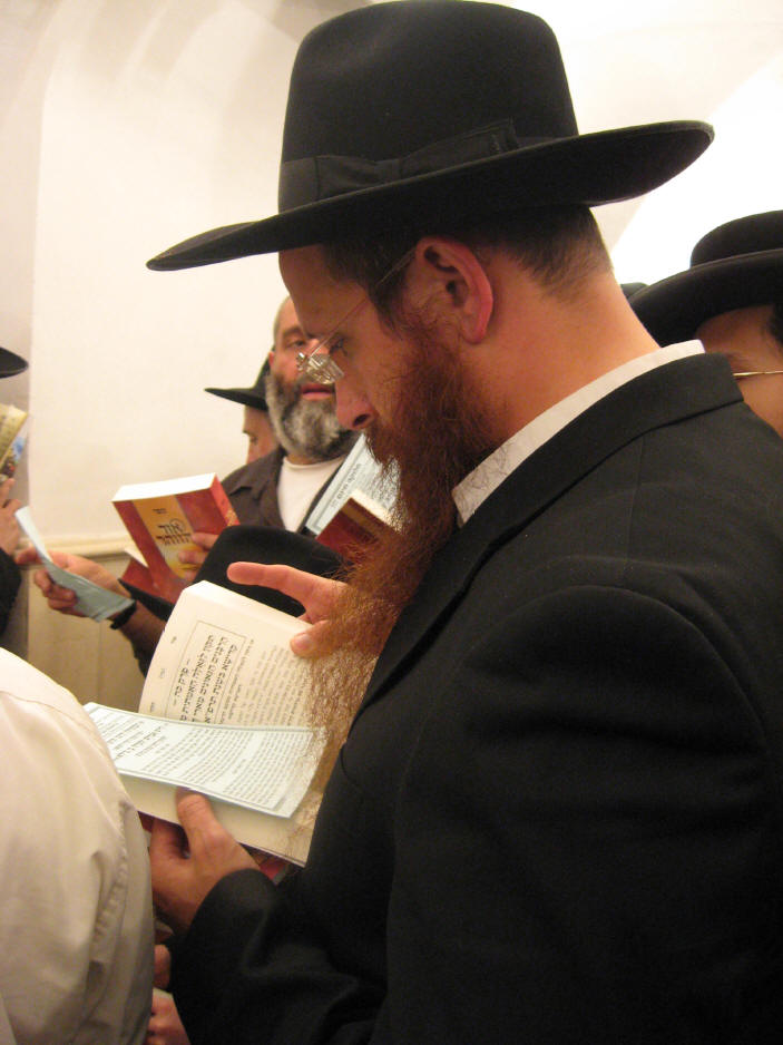 האדמו''ר מהאלמין שליט''א בחלוקה האדירה של ספרי זוהר בחינם ולימוד תיקוני הזוהר במירון (35)