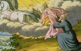 אליהו הנביא עולה במרכבה לשמים