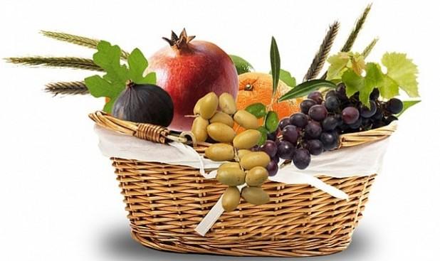 פירות טו בשבט בסל