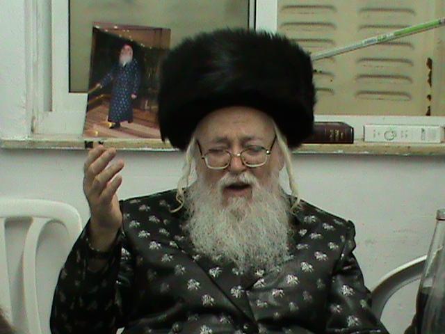 האדמור מהאלמין רבי שלום יהודה גרוס המלוה מלכה בירושלים (10)