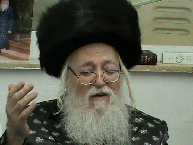 האדמור מהאלמין רבי שלום יהודה גרוס המלוה מלכה בירושלים (7)